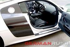German Rush Carbon Fiber V10 Style Side Blades for Audi R8 2007 - 2014