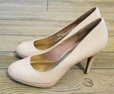 Christian Siriano Women's Shoes Platform Pumps Nude Payless Heels Sz 8.5
