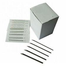 Body Piercing Needles Lot of 100 PC Sterilized 15G,14G,13G