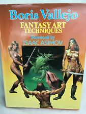Fantasy Art Techniques by Boris Vallejo - sci-fi fantasy Hardback 1985