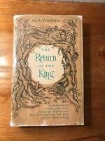 The Return Of The King by J.R.R. Tolkien HC 1st/12th Imp/Map