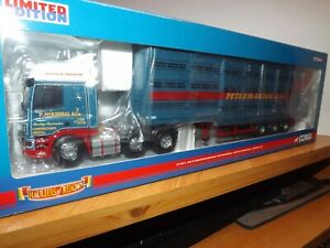 CORGI MODERN TRUCKS CC13614 - PETER McKERRAL & Co - DAF WITH LIVESTOCK TRAILER