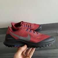 NIKE MENS PEGASUS TRAIL - UK 6.5/US 7.5/EUR 40.5 - CEDAR RED/BLACK (CK0082-600)