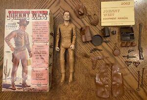 Marx Johnny West Vintage Movable Cowboy  Box Complete
