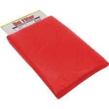 """Uni Air Filter Foam Sheet 12"""" X 16"""" X 3/8"""" 40 PPI Red Coarse Foam"""