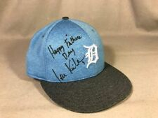 IAN KINSLER Autographed Father's Day Game-Used Detroit Tigers Baseball Cap !!