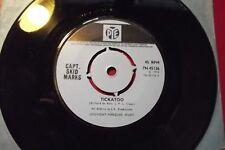 "CAPT_SKID MARKS  TICKATOO / THINKING  7"" SINGLE 1972"