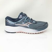 Saucony Womens Omni ISO 2 S10512-1 Blue Running Shoes Lace Up Low Top Size 10.5W