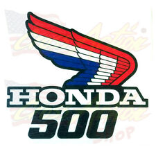 ADESIVI STICKER LOGO ALA HONDA HRC 500 FIANCATINE RADIATORE SERBATOIO MOTO DX