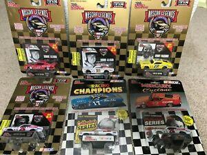 6 1/64 Racing Champions NASCAR Legends Lot Parsons,Yarbrough,Allison