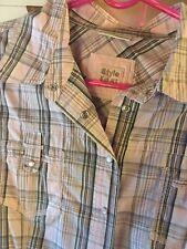 Street one®️38/40 M/L Damen Mädchen wie Jeans Hemd Bluse mit Spandex & Baumwolle