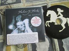 Helen J Hicks BE MYSELF LoudMouth Music  CDr Promo CD Single