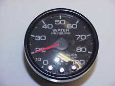 Spek Pro Water Pressure Gauge 0-120 PSI Black Face  JH7