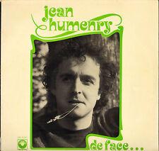 """JEAN HUMENRY """"DE FACE ET DE PROFIL"""" LP ARC EN CIEL 30-641"""
