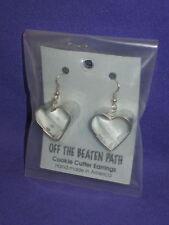 Teddy Bear Mini Metal Cookie Cutter Earings by Off The Beaten Path Mint
