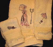 """Victorian Lady"" Towel Set"
