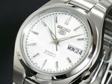 SEIKO 5 SNK601 SNK601K1 21 Jewels Automatic White 30m WR !