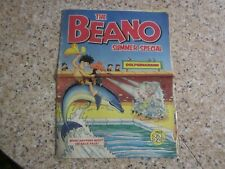 July 1981, BEANO SUMMER SPECIAL, Dennis the Menace and Gnasher, Biffo the Bear.