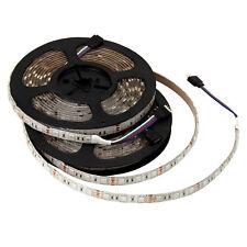 2Pcs RGB 5M 300Leds 5050 SMD Flexible LED Strip Light Waterproof Christmas Lamp