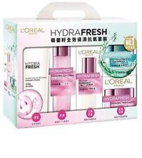 L'Oreal Paris HydraFresh Anti-ox set 5pcs(foam, spa water, lotion, essence, balm