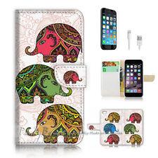 ( For iPhone 6 Plus / iPhone 6S Plus ) Case Cover P2551 Aztec Elephant