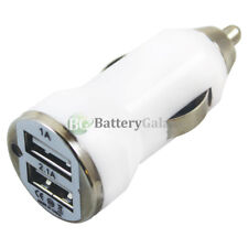 Fast Dual 2 Port Car Charger 2.1 Amp for Apple iPhone 4 / 4S / 5 / 5C / 5S / SE
