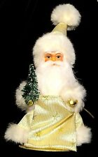Cute~Ino Schaller Gold Star Santa~CHRISTmas Plastic Doll/Figurine/Gift~Germany