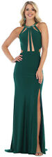 SIMPLE LONG EVENING GOWN SEXY RED CARPET SEMI FORMAL SPECIAL OCCASION PROM DRESS