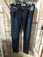 Daytrip Dark Denim Jeans Size 30R Skinny Lynx