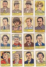 Colección completa cromos ALBUM ESTRELLAS DE CINE ( nº 1 ) 1941 Ed. Valenciana