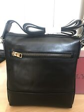 Bally Trezzini Black Calf Leather Crossbody Bag