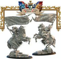 Lost Kingdom Miniatures Kingdom of Mercia Kingdom Standard Bearer Kings of War