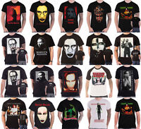 Official Marilyn Manson T Shirt Pale Emperor SAY10 American Family Mens New