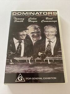 """TURF COLLECTION - """"DOMINATORS"""" DVD  - BART CUMMINGS DAVID HAYES TOMMY SMITH RARE"""