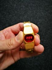 Ladie's Ten Four Sanyo Led Watch Japan Gold color