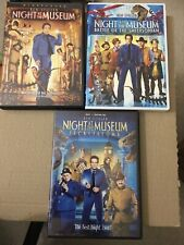 Night at the Museum 1, 2  and 3 DVD Trilogy, 3 Movies
