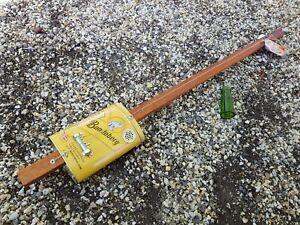 CIGAR BOX GUITAR - 1 STRING- DIDDLEY BOW- CRAFTED BY SALTY DOG CBG-FREE SLIDE