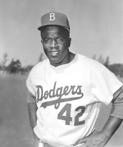 JACKIE ROBINSON 8X10 GLOSSY PHOTO PICTURE