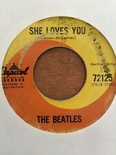 THE BEATLES ON CANADA CAPITOL 72125 NORTHERN SHE LOVES YOU SMALL LETTERS VG+