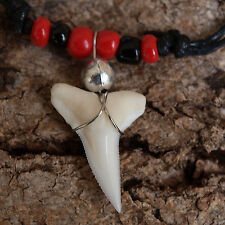 MAKO SHARK TEETH NECKLACE LIVERPOOL AC MILAN ARSENAL MANCHESTER UNITED FC cgb90