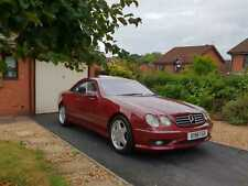 MERCEDES BENZ CL 500 COUPE (AMG) 2001 STUNNING CONDITION FMSH