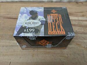 "1994 UPPER DECK  SERIES 1 BASEBALL SEALED BOX JORDON/AROD/MANTLE ""LONG SHOTS"""
