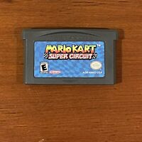 Mario Kart Super Circuit (Nintendo GameBoy Advance GBA) Authentic TESTED WORKS!