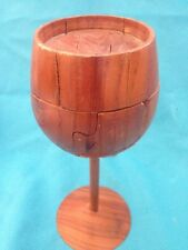 Wine Glass Puzzles (wood)