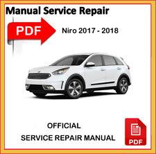 KIA NIRO 2017 - 2018 Factory Service Repair Workshop Manual OFFICIAL