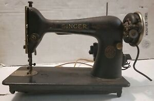 Vintage 1929 Singer Sewing Machine AC637311 Model 66