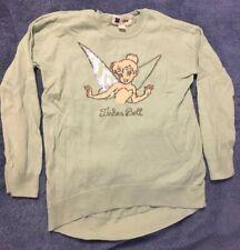 Gap Kids Disney Tinkerbell sweater, sequin embellishments, girls size medium