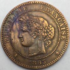 Ceres 10 centimes 1883 A bronze #742