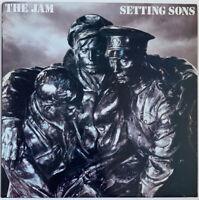 THE JAM SETTING SONS LP POLYDOR UK 1979 A1/B3 MATRIX STRAWBERRY CUT EX CONDITION