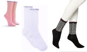 Hue Socks WOW Raffled Open Work Socks  One Size